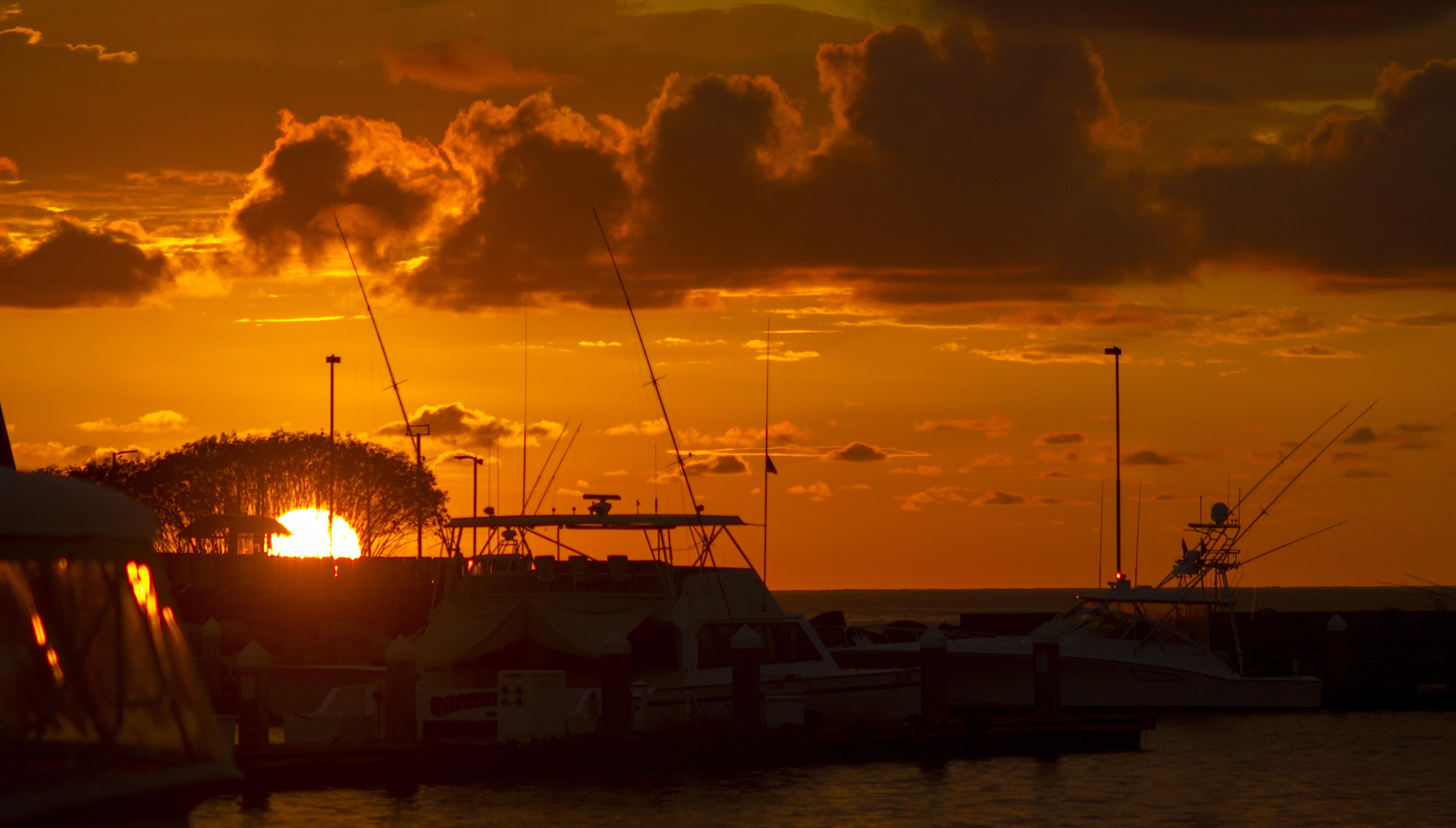 The amazing sunsets